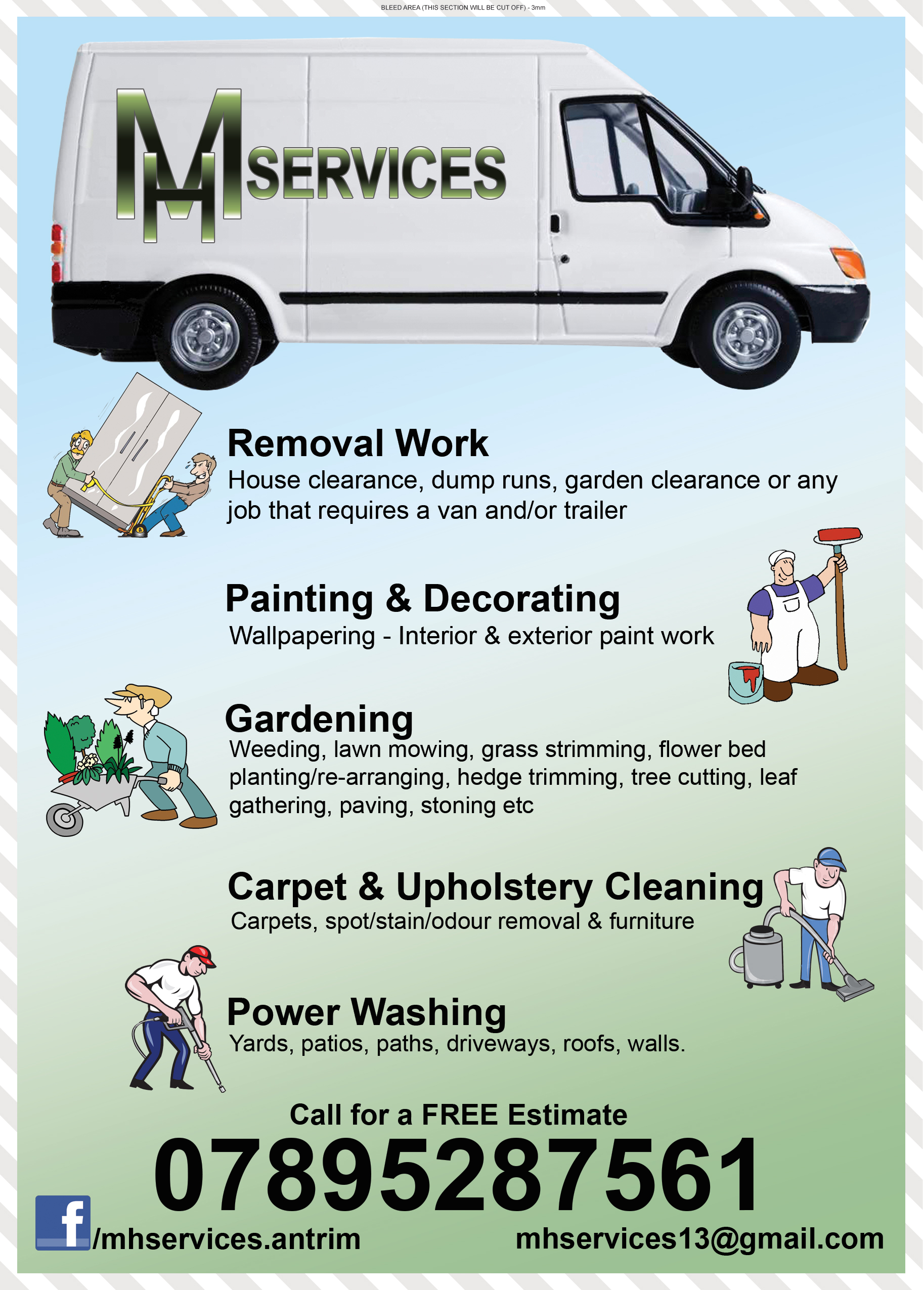 county antrim business directory business advertising for mh services are available for removal work house clearance dump runs garden clearance or any job that requires a van and or trailer garden